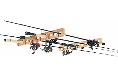 Overhead Ceiling Fishing Pole Rod Rack