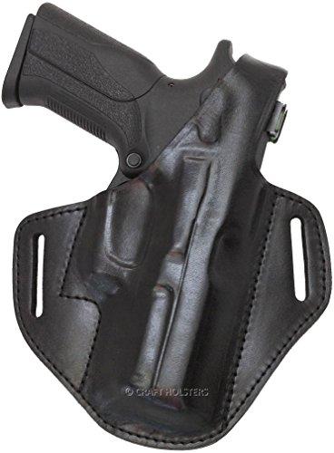 Ruger Alaskan Closed Muzzle Leather Belt Holster