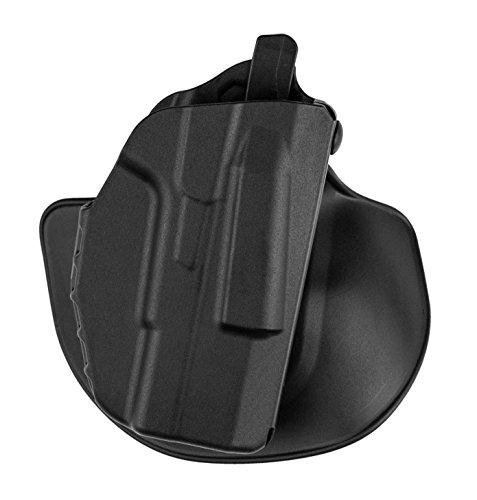 Safariland 7378 7TS ALS Concealment Holster Flex-Paddle Belt Loop Combo Glock 43  SafariSevenit Plain Black Right Hand
