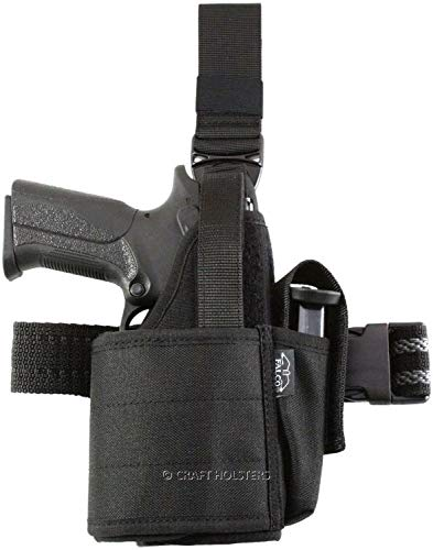 Craft Holsters Taurus G2C Compatible Holster - Nylon Tactical Holster for Gun w LightLaser 551