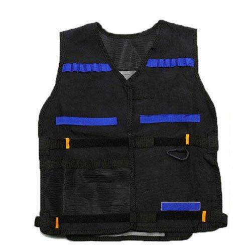 Tactical Vest Kids Toy Gun Clip Jacket Foam Bullet Ammunition Holder For Nerf