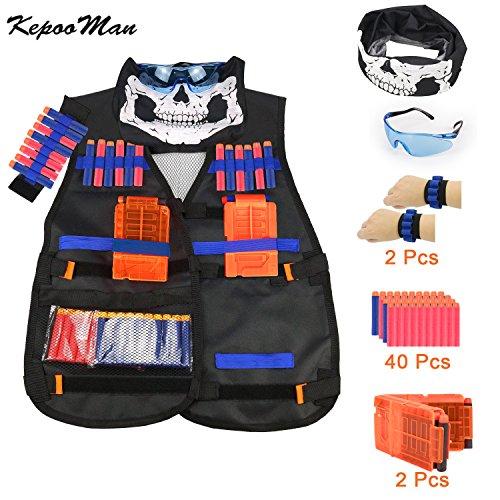 Tactical Vest Kit for Nerf Guns N-Strike Elite Series-by Kadyn