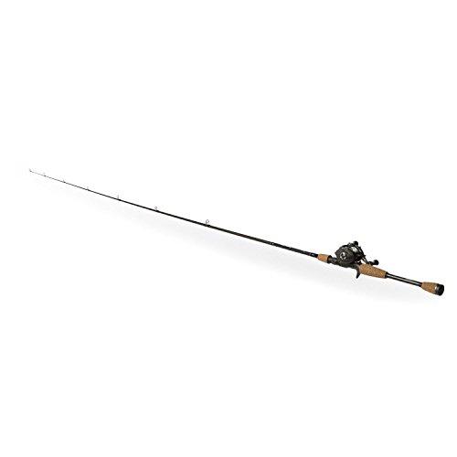 Shakespeare AGLPCBO Agility Low Profile Baitcast Rod and Reel Combo 66 Feet Medium Power