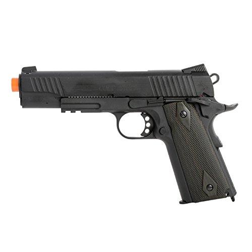 KWC Colt 1911 Rail Pistol with Co2 Full Metal Blowback Black
