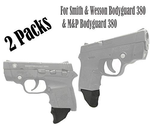 E-ONSALE Pack of 2 Grip Extensions Fits Smith Wesson Bodyguard 380 M&P Bodyguard 380 M380-XL 2PCS