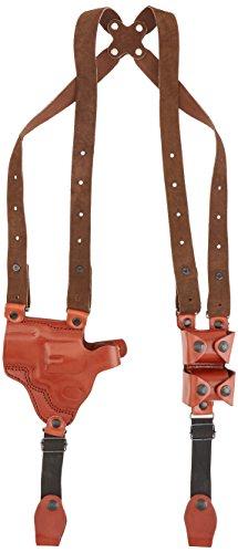 Tagua SH4-903 Full Slide Shoulder Holster S&W L Frame 2-12 Brown Left Hand