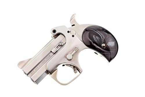 Bond Arms Derringer Grips Black Mother of Pearl Grips High Luster