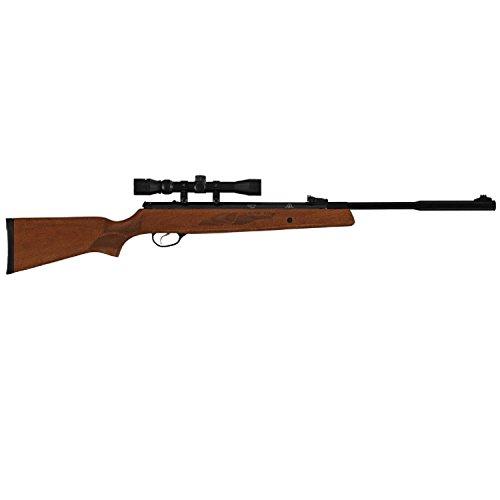 Hatsan HC9522VORTQE 95 Vortex Quiet Energy Break Barrel Air Rifle22 Caliber 1770 Barrel Single Shot Walnut StockBlack Withx 40mm 3-9X32Mm