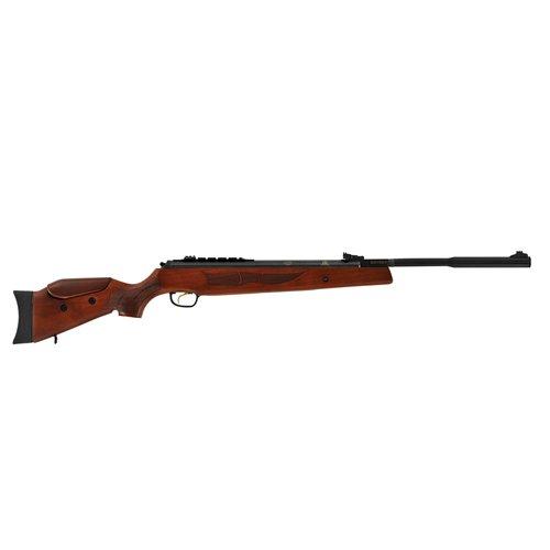 Hatsan HG135177VORTQE 135 Vortex Quiet Energy Break Barrel Air Rifle17 Caliber 1060 Barrel Single Shot Walnut StockBlack