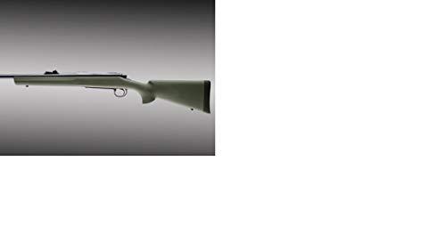 Hogue 70201 Remington 700 BDL Long Action OverMolded Stock Standard Barrel Pillarbed Olive Drab Green