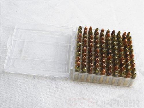 OTSupplier Heavy Duty See-Thru Ammunition Storage Boxes 22LR- 2 PACK