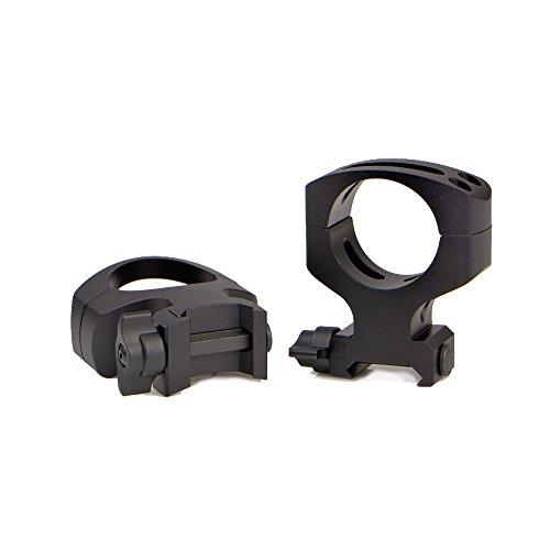 Warne Scope Mounts 30 mm MSR QD Matte Rings 2 Piece Black