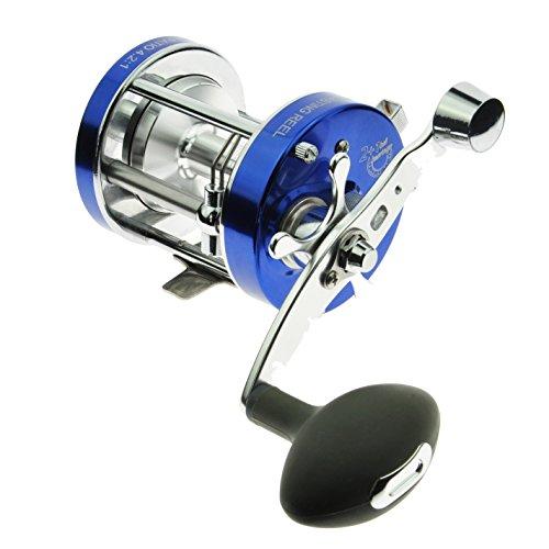 JEKOSEN A Grade Baitcasting Fishing Reel Trolling Reel 2BB1RB Bearing 421Gear Ratio