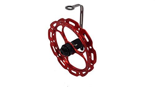 Ray Spinner Hand Reel 150 Trolling Reel Crappie Jigging Reel Ice Reel Red