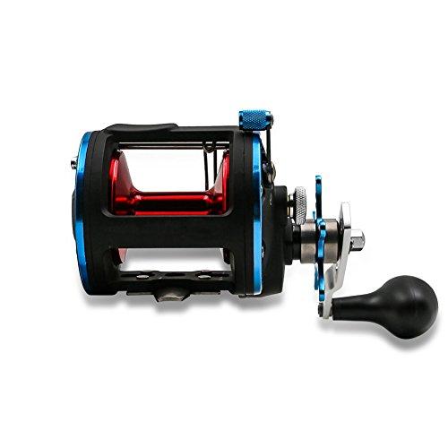 Sanlike Baitcast Reel Fishing Reels Trolling reel Waterproof Gear Jigging Reel for Deep SeaFreshwater