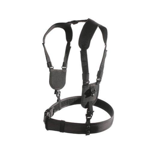 BLACKHAWK Ergonomic Black Duty Belt Harness - LargeXLarge
