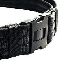 Heros Pride Replacement Buckle System For 2-14in Duty Belt Triple Lock Black