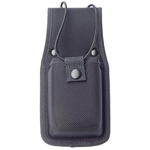 Molded Universal Radio Case Duty Gear Radio Pouch for Duty Belt Black