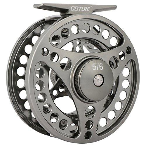Goture Fly Fishing Reel Waterproof 21BB 34 56 78 910 Aluminum Alloy Body