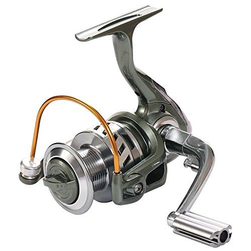 Rose Kuli Spinning Reel Metal Spool Baitcasting Fishing Reel 121 Ball Bearings for Freshwater and Saltwater 3000 4000 Series