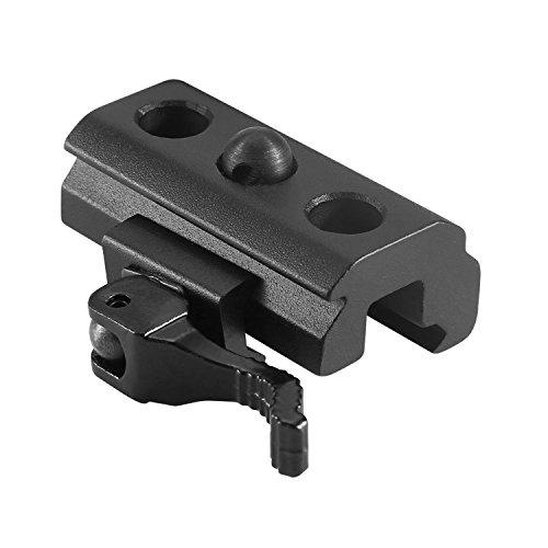 Modkin QD Bipod Adapter for Weaver Picatinny Rails Sling Swivel Stud Mount