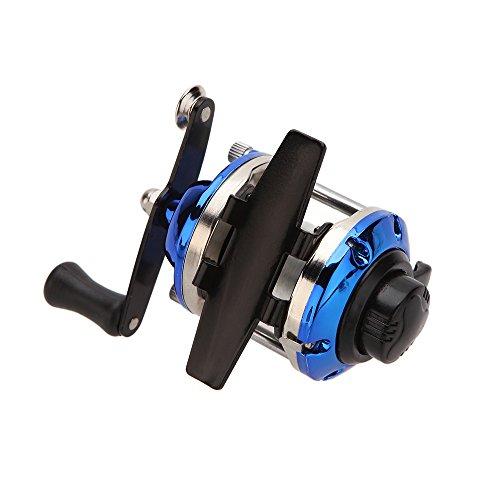 StristTM New Mini 361 RightLeft Hand Interchangeable Fishing Wheel Bait Casting Fishing Reel Gear for Ice Fishing