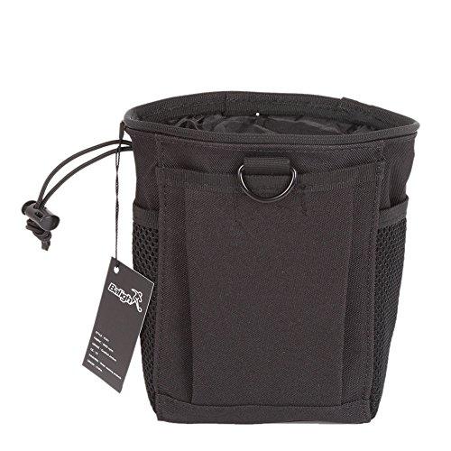 Waterproof Outdoor Molle PouchJlong Drawstring Lock High Capacity Dump Bag Belt Magazine Dump Drop Reloader Pouch Bag