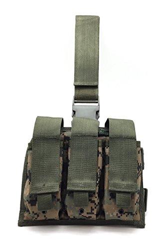 TAC Force AR Drop Leg Magazine Pouch Digital Woodland