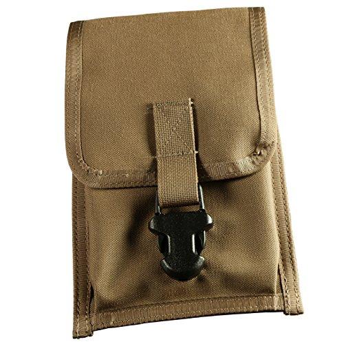 Rite in the Rain All-Weather CORDURA Fabric Notebook Pouch 5 34 x 9 Wasit-Clip Pouch Tan Cover No C540F