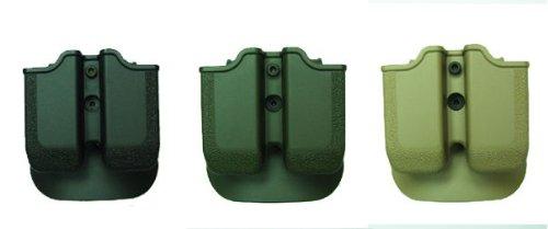 MP04 - Double Paddle Mag Pouch Black HandGun Pistol FireArm Conceal Carry