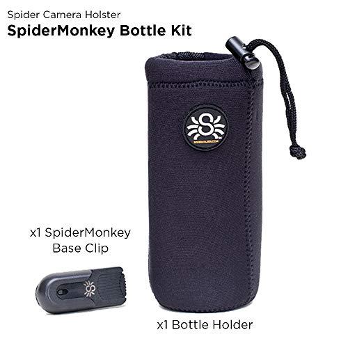 Spider Holster - SpiderMonkey Water Bottle Holder - Belt Clip with Neoprene Drink Holster