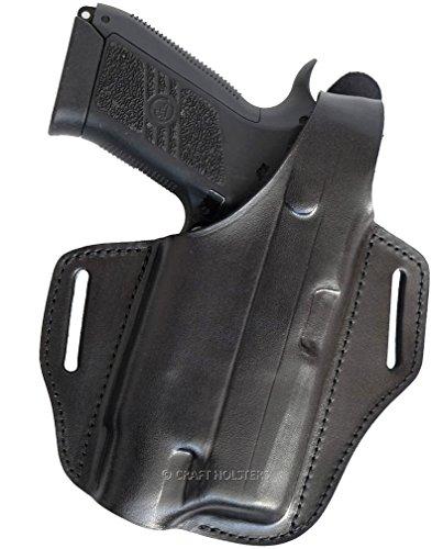 Wilson Combat 1911 Leather Belt Holster for Gun with Light