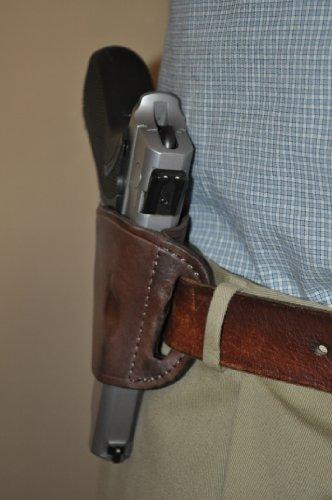 Pro-Tech Outdoors Brown Leather Belt Slide Gun Holster for Sig Sauer P-250 P-229 P-228