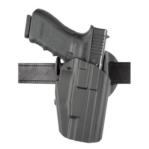 Safariland 576 7TS Gls Pro-Fit Standard Frame Compact Slide Contoured 15 Belt Slide Holster Plain Right Hand Black