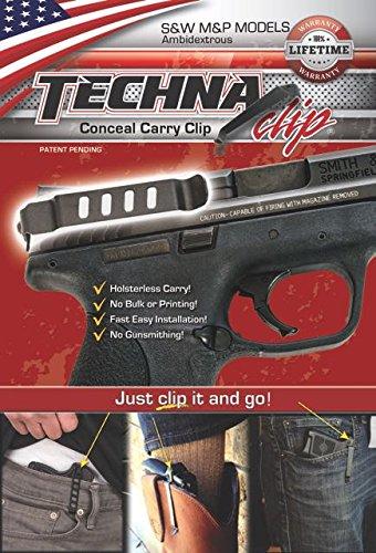 TECHNA TECMP-BA TECHNA Clip S&W M&P Ambit Black Gun Stock Accessories