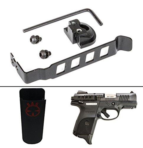 Techna Clip Ruger SR9 Models Ambidextrous  Ultimate Arms Gear Universal Multi Accordion Flexible Belt Clip Pouch Holder Fits Pistol Magazines