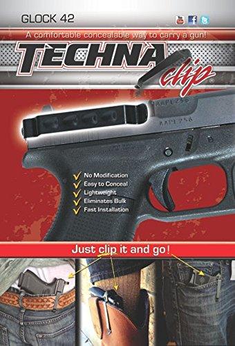Techna Clip TECG42-BRL Gun Belt Black