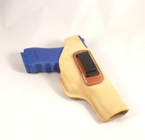Glock 17 Glock 22 Concealed Carry Suede IWB - Inside The Pants Clip Pistol Holster