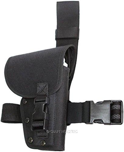 Beretta M9A1 Duty Drop Leg Holster with Flap