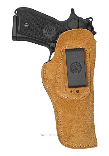 Beretta M9A1 Suede IWB Holster w 3 Cant Positions