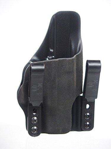 HSP Haley Strategic G-Code Incog Full Guard IWB Tuckable Holster w Brushed Aluminum Standard Mojo Glock 26 27 33 Right