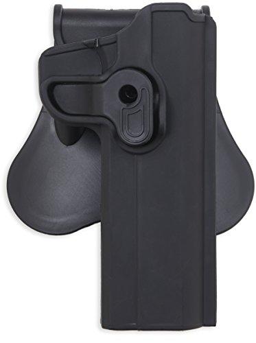 Bulldog Cases P-1911 Polymer Holster Black Right
