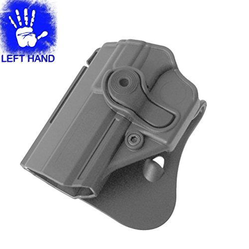 IMI Defense Left Hand Level 2 Black Paddle Polymer Holster for Jericho Baby Eagle 941 PSL Polymer Frame - IMI-Z1300 LH