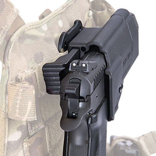 Orpaz S&W M&P Thumb Release MOLLE Holster 360 Rotation With Tension Adjustment Screw