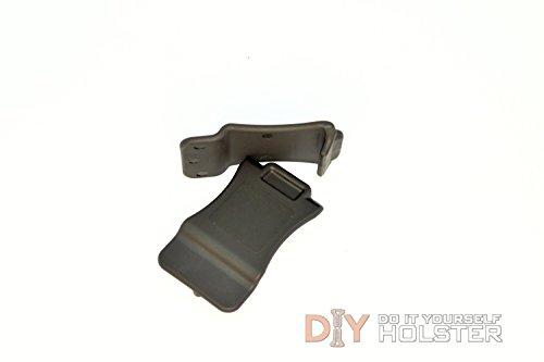 DIY Kydex Holster Quick Clips 175 Belts Black 2 Pack