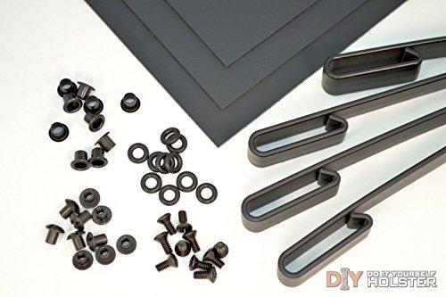 Kydex Holster DIY Kit wIWB Over Hooks 15 Belts