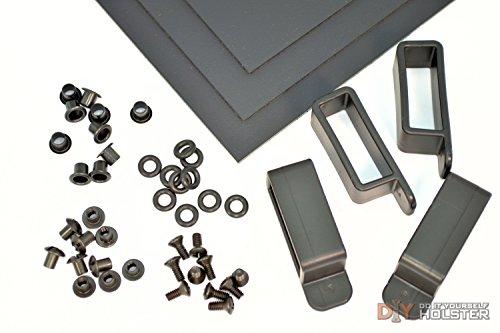 Kydex Holster DIY Kit wOWB Belt Loops 175 Belts