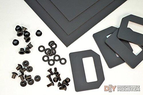 Kydex Holster DIY Kit wOWB Pancake Wings 15 Belts