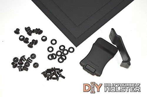 Kydex Holster DIY Kit wQuick Clips 175 Belts