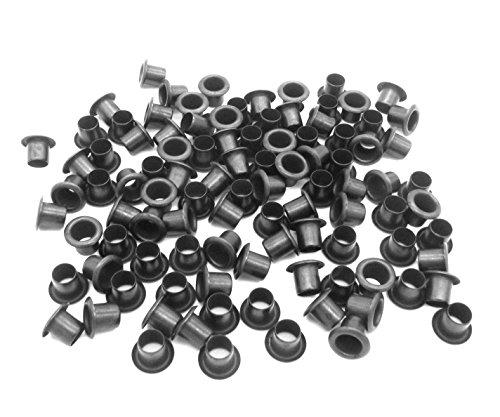 QuickClip Pro Mil-Spec Kydex Eyelets GS 8-10 Brass Black Oxide 14 DIY Gun Holster Knife Sheath Grommets